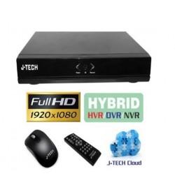 Đầu ghi IP  J-Tech AHD8104