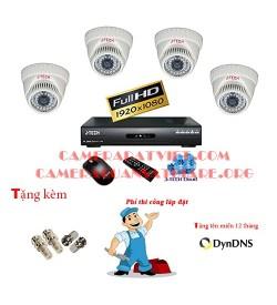 Trọn bộ 4 camera J-Tech chuẩn AHD B43200