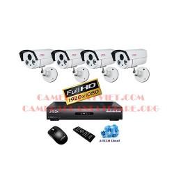 Trọn bộ 4 camera J-Tech chuẩn AHD JT_AHD560