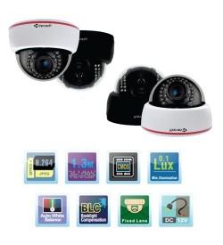Trọn bộ 4 camera IP VanTech VP-181A