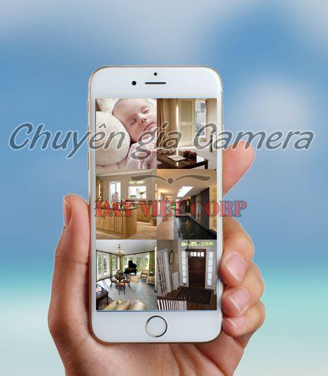 Giải pháp camera đảm bảo an ninh cho ngôi nhà bạn thông qua điện thoại